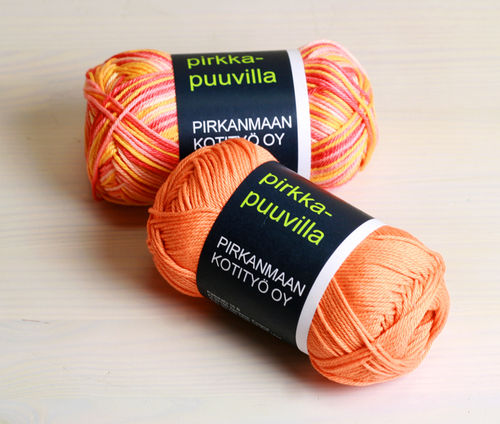 Pirkka-cotton Nm 10/4, 3,30 € / multicolored 4,00 €