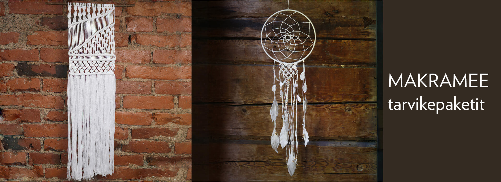 Macrame – master knotting decorative textiles, wall hangings, or jewelry